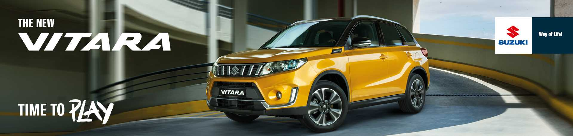 The new Vitara, time to play