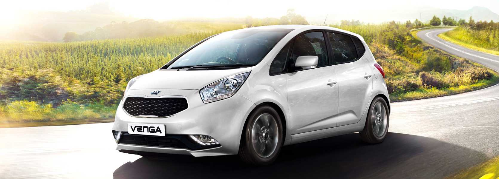 Kia Venga Available at Canterbury Kia